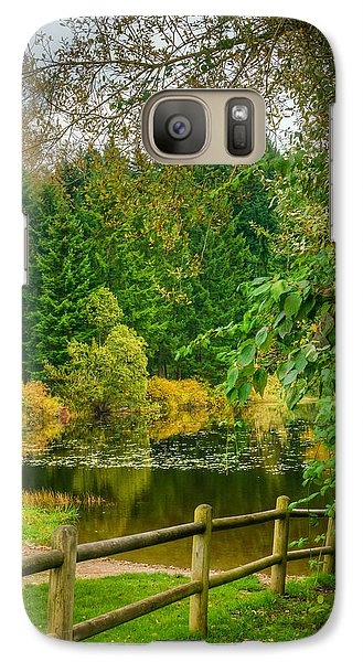Galaxy Case featuring the photograph Placid Reflection by Chris McKenna