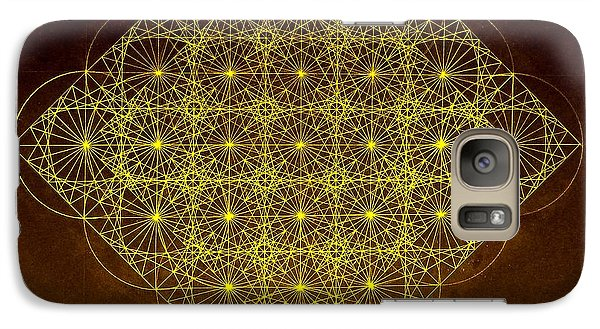 Galaxy Case featuring the drawing Planck Space Time  by Jason Padgett