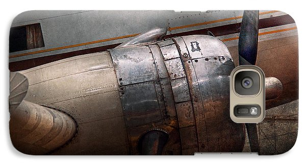 Plane - A Little Rough Around The Edges Galaxy S7 Case by Mike Savad