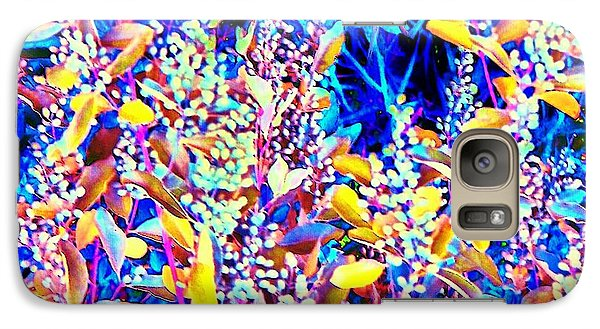 Galaxy Case featuring the photograph Plant Life II by Shirley Moravec