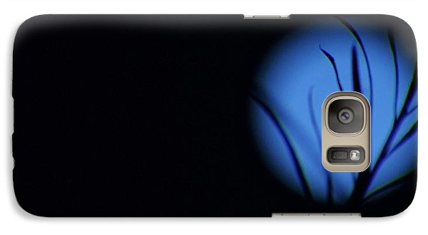 Galaxy Case featuring the photograph Plant's Eye by Angela J Wright