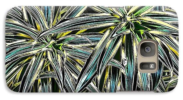 Galaxy Case featuring the photograph Plants  by Oksana Semenchenko