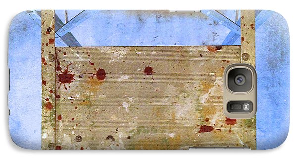 Galaxy Case featuring the photograph Platform Abstract by Paul Cammarata