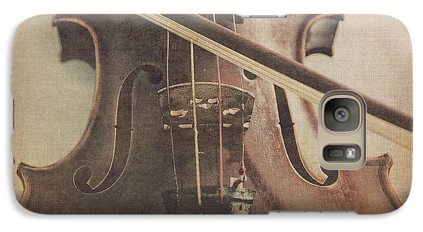 Violin Galaxy S7 Case - Play A Tune by Emily Kay