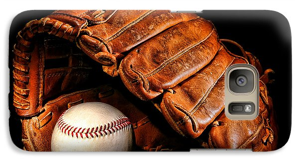 Softball Galaxy S7 Case - Play Ball by Olivier Le Queinec