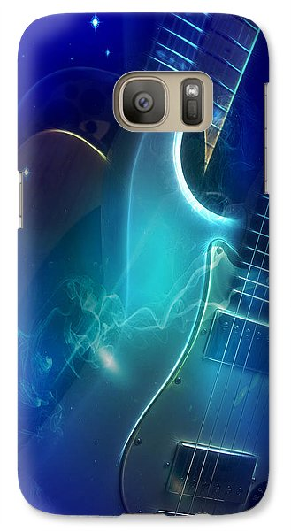 Galaxy Case featuring the photograph Play Them Blues by John Rivera