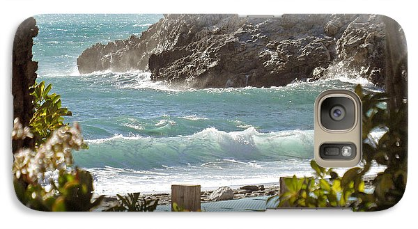 Galaxy Case featuring the photograph Playa Del Cantarrijan by Rod Jones