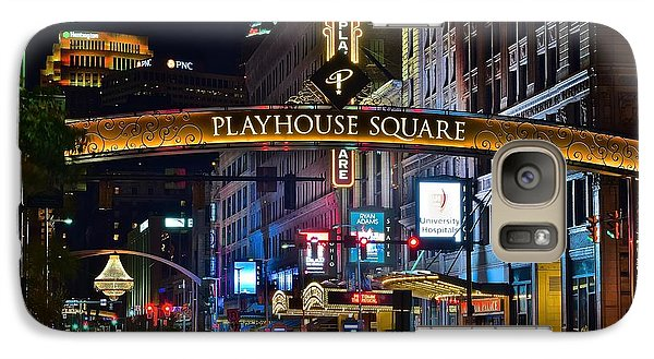 Playhouse Square Galaxy S7 Case by Frozen in Time Fine Art Photography