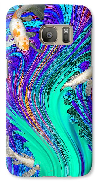 Galaxy Case featuring the photograph Playing Hide And Seek by Mariarosa Rockefeller