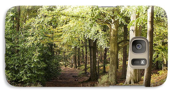 Galaxy Case featuring the photograph Playing In The Woods by David Isaacson