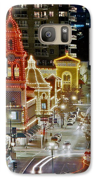 Galaxy Case featuring the photograph Plaza-kansas City by Christopher McKenzie