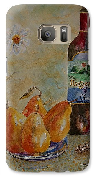 Galaxy Case featuring the painting Pleasant Hill Winery by Tamyra Crossley