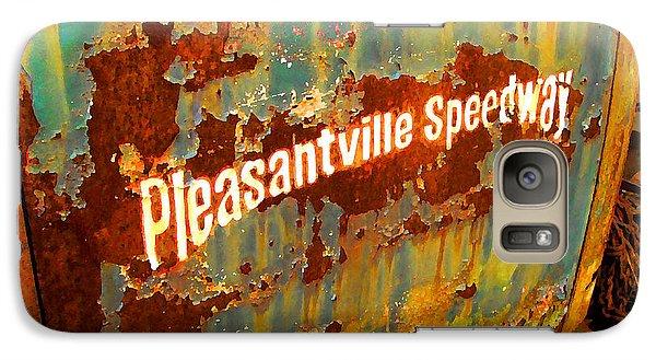 Galaxy Case featuring the digital art Pleasantville Speedway by K Scott Teeters