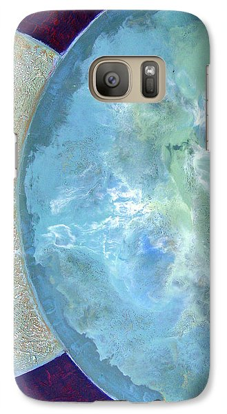 Galaxy Case featuring the painting Pleiades Meditation by Carolyn Goodridge