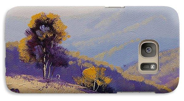 Rural Scenes Galaxy S7 Case - Plein Air  Study by Graham Gercken