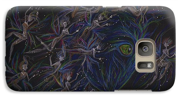 Galaxy Case featuring the drawing Plethera by Dawn Fairies