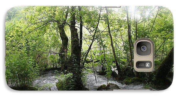 Plitvice Lakes Galaxy S7 Case