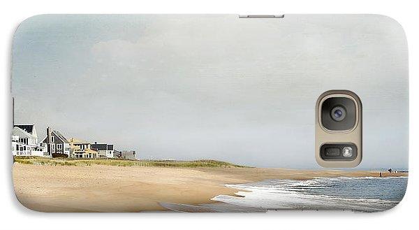 Galaxy Case featuring the photograph Plum Island Picnic by Karen Lynch