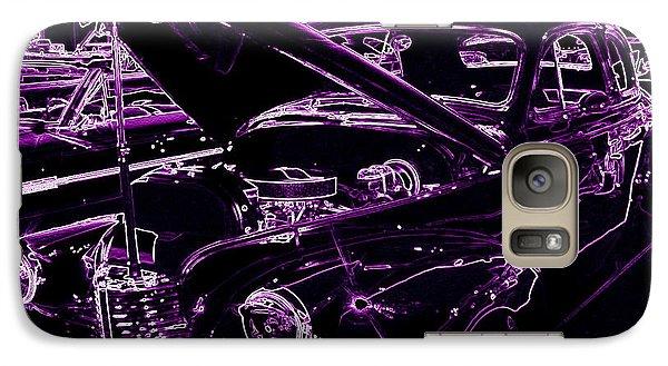 Galaxy Case featuring the digital art Plum Perfect by Bobbee Rickard
