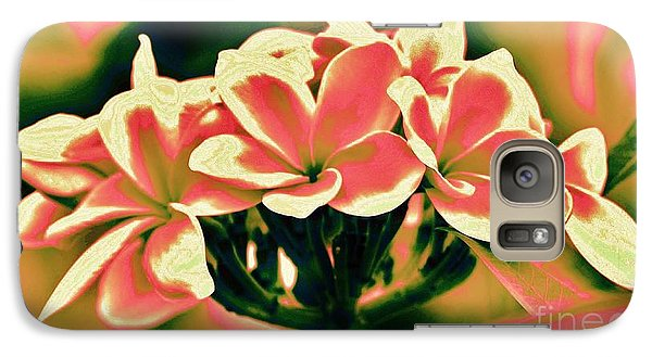 Galaxy Case featuring the photograph Plumeria - A Different View by Craig Wood