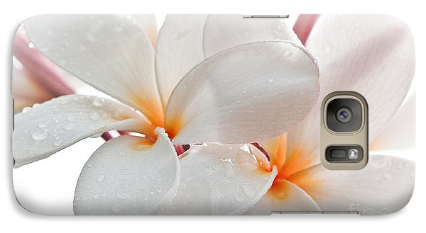 Galaxy Case featuring the photograph Plumeria by Roselynne Broussard