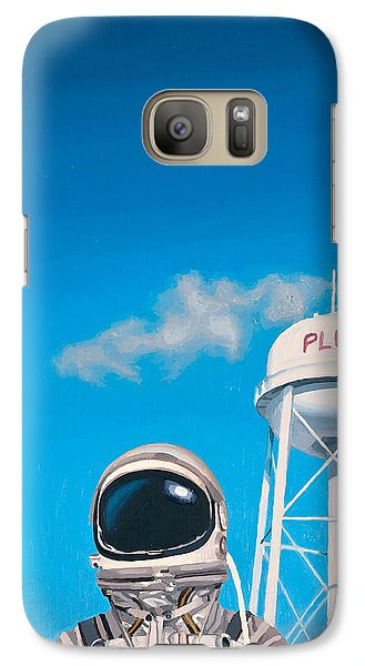 Pluto Galaxy Case by Scott Listfield