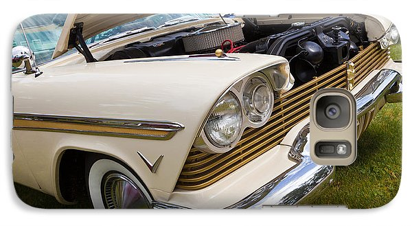 Galaxy Case featuring the photograph Plymouth Fury Cream by Mick Flynn