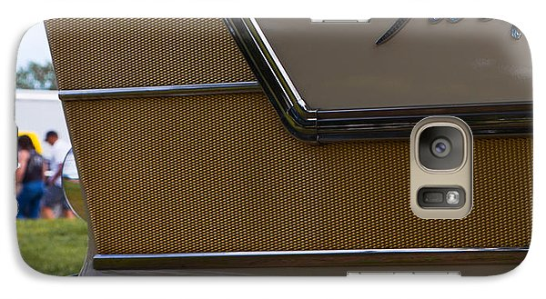Galaxy Case featuring the photograph Plymouth Fury Tail Fin Detail by Mick Flynn