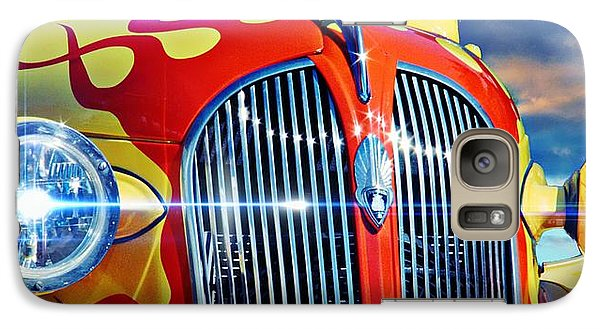 Vintage Car Galaxy Case featuring the photograph Plymouth Oldie by Aaron Berg