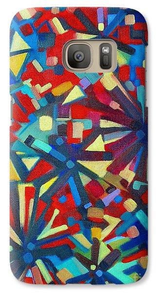 Galaxy Case featuring the painting Poetry In Motion  051108 by Selena Boron