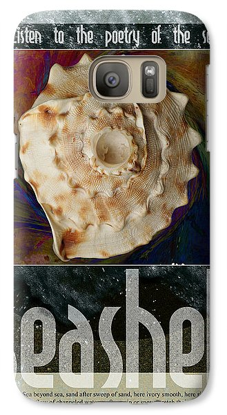 Galaxy Case featuring the digital art Poetry Of The Sea by John Fish