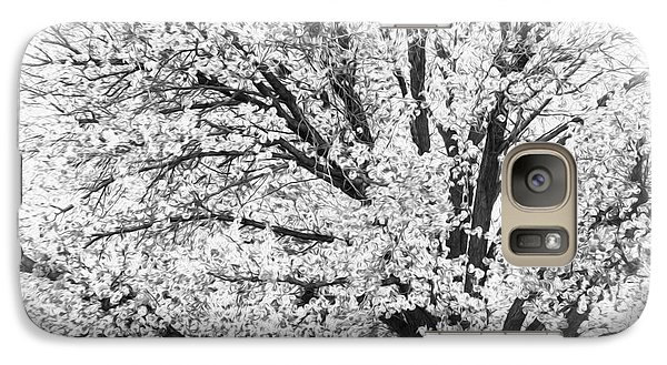 Galaxy Case featuring the photograph Poetry Tree by Roselynne Broussard