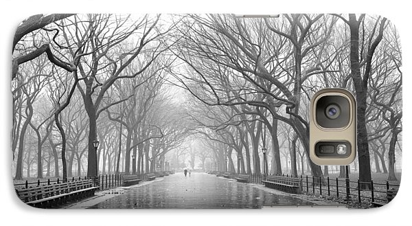 Galaxy Case featuring the photograph New York City - Poets Walk Central Park by Dave Beckerman