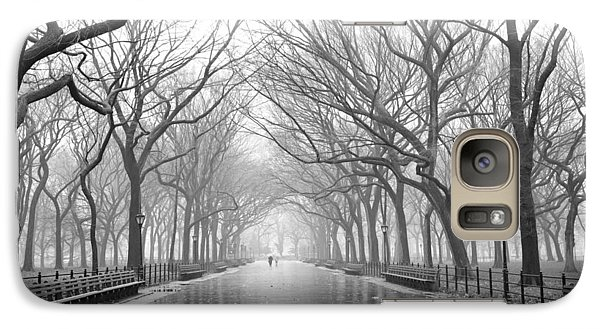 New York City - Poets Walk Central Park Galaxy S7 Case by Dave Beckerman