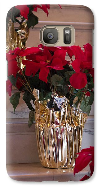 Galaxy Case featuring the photograph Poinsettias by Patricia Babbitt