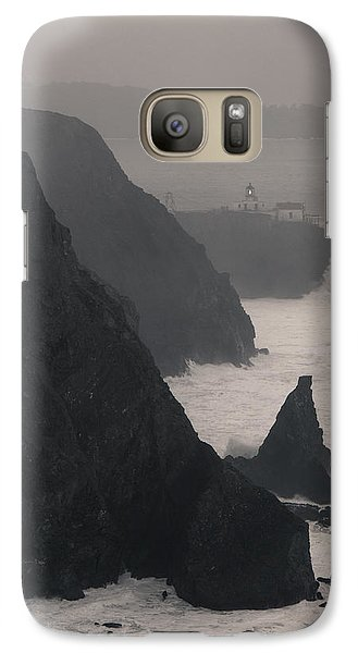 Galaxy Case featuring the photograph Point Bonita Lighthouse by Scott Rackers