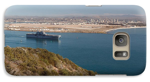 Galaxy Case featuring the photograph Point Loma Looking Toward San Diego by Scott Rackers