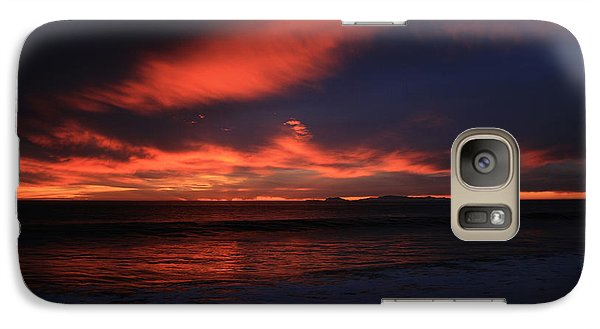 Galaxy Case featuring the photograph Point Mugu 1-9-10 Just After Sunset by Ian Donley