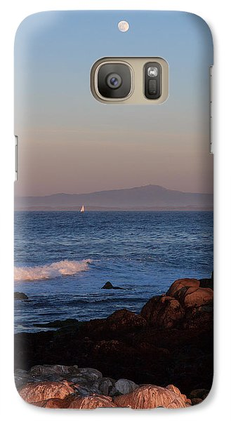 Galaxy Case featuring the photograph Point Pinos At Dusk by Scott Rackers