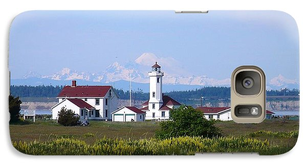 Galaxy Case featuring the photograph Point Wilson Light by Gayle Swigart