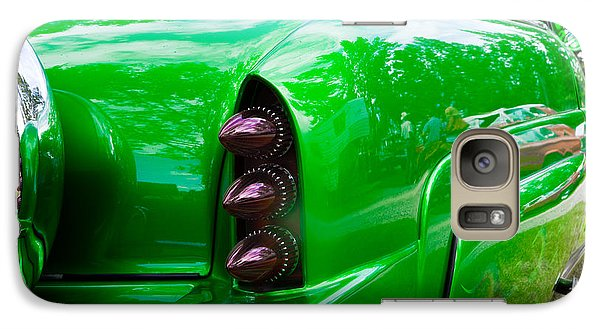 Galaxy Case featuring the photograph Poison Ivy Green Custom Car by Mick Flynn