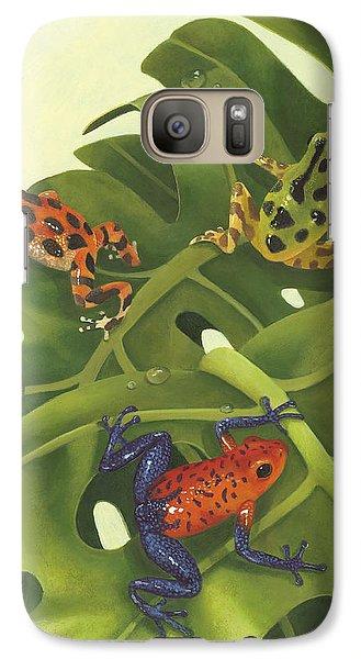 Poison Pals Galaxy S7 Case by Laura Regan