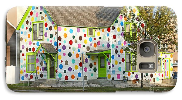 Galaxy Case featuring the photograph Polka Dot House by Steve Augustin