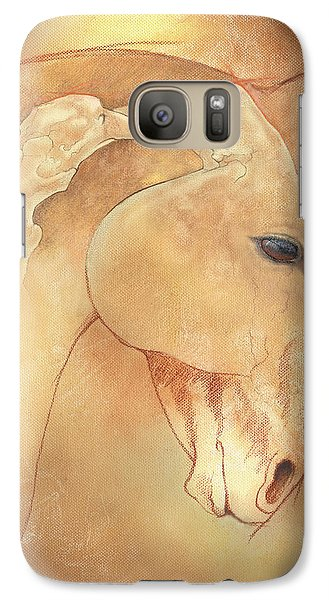 Poll Meet Atlas Axis Galaxy S7 Case by Catherine Twomey