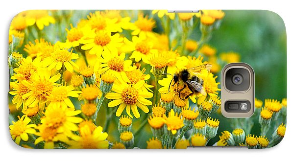 Galaxy Case featuring the photograph Pollination by Crystal Hoeveler