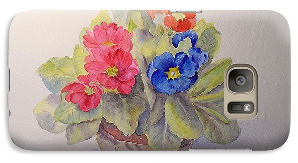 Polyanthus Galaxy S7 Case by Beatrice Cloake