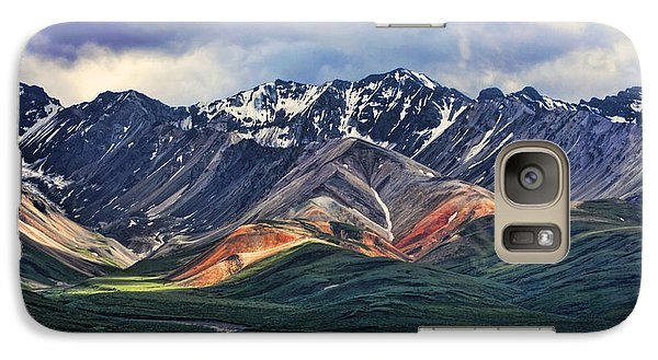 Mountain Galaxy S7 Case - Polychrome by Heather Applegate
