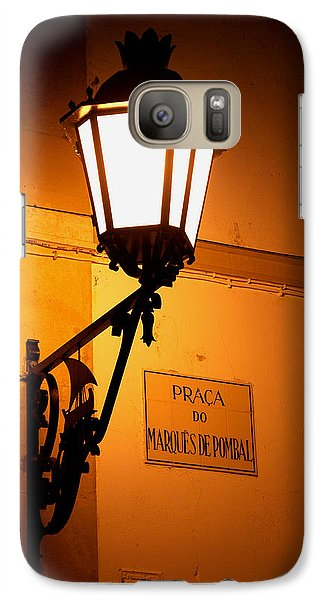 Galaxy Case featuring the photograph Pombal's Light by Luis Esteves