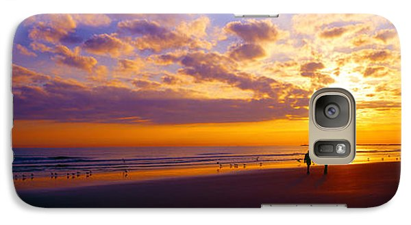 Galaxy Case featuring the photograph Ponce Inlet Fl Sunrise  by Tom Jelen
