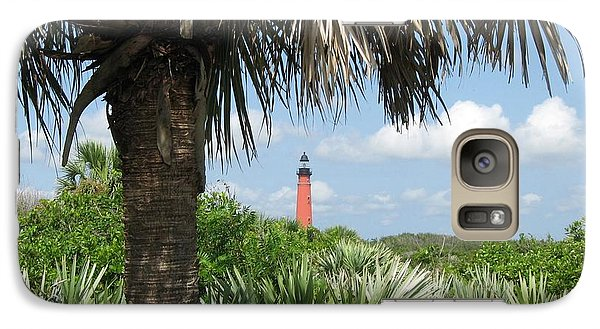 Galaxy Case featuring the digital art Ponce Inlet Lighthouse Florida 2 by Brian Johnson